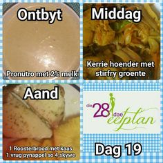 Day 19 Diet Recipes, Snack Recipes, Healthy Recipes, Diet Meals, Recipies, 28 Dae Dieet, Dieet Plan, 28 Day Challenge, Dash Diet