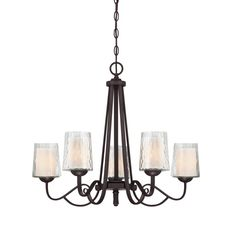 The Quoizel Traditional Dark Cherry #Chandelier is part of the Adonis Collection.