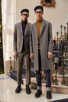 Die Kooples Herbst 2017 Menswear Fashion Show - Mens Fashion - Mens, Women's Outfits Stylish Mens Fashion, Latest Mens Fashion, Mod Fashion, Fashion Mode, Urban Fashion, Fashion Menswear, Fashion Styles, Fashion Trends, Best Street Style