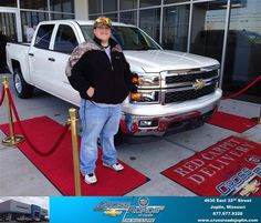 #HappyAnniversary to Caleb Nutt on your 2014 #Chevrolet #Silverado 1500 from Phillip Burnette at Crossroads Chevrolet Cadillac!