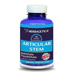 Stem Articular 60cps (5 produse) - FrumuseteSiSanatate.ro Spirulina, Orice, Mai, Seaweed