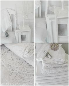 lots of lovely white...