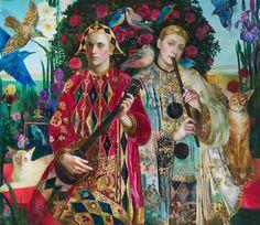 Olga Suvorova, Russian artist from St.Petersburg, born 1966