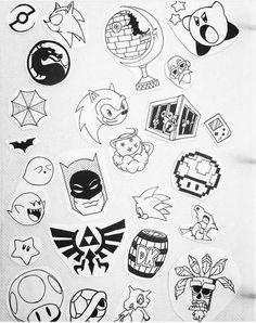 Eye catching tattoo sketches design ideas 46 Eye catching tattoo sketches design ideas 46 This image has get Tattoo Geek, Kritzelei Tattoo, Doodle Tattoo, Poke Tattoo, Doodle Art, Flash Art Tattoos, Body Art Tattoos, Sleeve Tattoos, Tattoos Skull