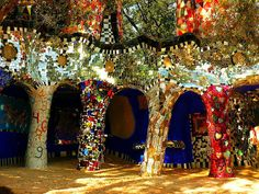 The garden by Niki de Saint Phalle - Italy