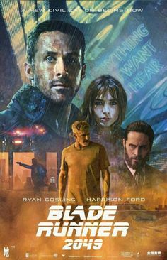 Blade runner alternative poster