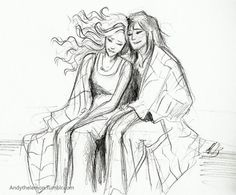 Piper and Annabeth by AndytheLemon on Etsy, £4.30