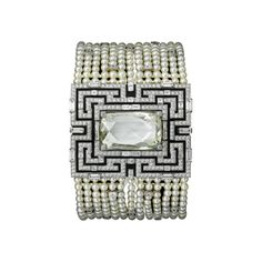 Cartier - Figurative High Jewelry watch White gold with rhodium finish and diamonds