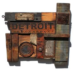 Lost and Found Detroit No. 3 | Found Object Assemblage and M… | Flickr