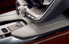 Volvo Concept Estate Interior - Center console detail