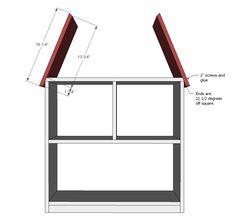 Ana White | Barn Bookshelf - DIY Projects