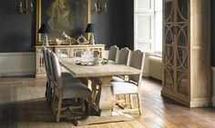 This rustic, reclaimed timber Montreal Dining Set is sure to become the centrepiece of any dining room. Dining Set, Dining Room, Dining Tables, Reclaimed Timber, Quality Furniture, Table And Chairs, Frames On Wall, New Homes, Rustic