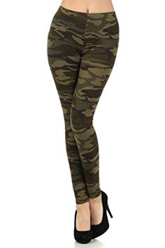 Womens Army Military Camouflage Various Pattern Leggings Plus Size Army *** Find out more about the great product at the image link.