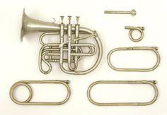 Cornopean in Bb, A, Ab, F, E, Eb (Metzler, 1841-42)