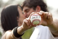 #save-the-date #baseball #wedding