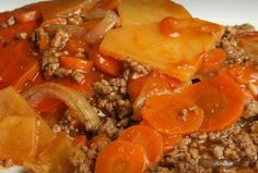 Recepies With Ground Beef, Beef Recepies, Rice Recipes, Cooking Recipes, Canadian Food, Beef Casserole, Ground Meat, One Pot Meals, Italy
