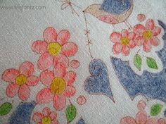 Staying Inside the Lines: Pencil Coloring Embroidery Designs
