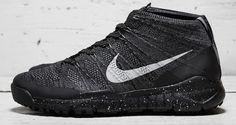 Nike Flyknit Trainer Chukka FSB Black/Grey