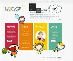 Day Care Facebook HTML CMS Templates by Delta