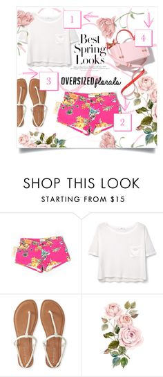 """""""Spring Look"""" by patri-fachini ❤ liked on Polyvore featuring Denim & Supply by Ralph Lauren, H&M, MANGO and Aéropostale"""