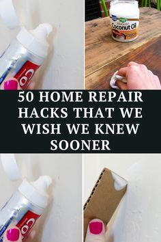 take a look at some of the most brilliant home repair hacks - it will save you time, money, and a whole lot of stress.