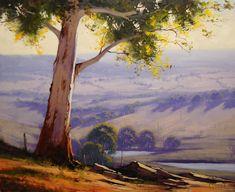 Graham Gercken - olejové malby australské přírody