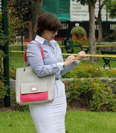 Divina Ejecutiva: Mis Looks - La falda blanca #divinaejecutiva #officeattire #workingstyle #workinggirl #workinglook #whiteskirt #ootd
