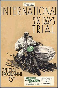 1938 ISDT. The XX International Six Days Trial.