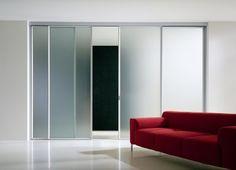 Arquitectura Moderna: Puertas correderas lisas