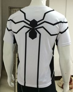 future foundation spider man costume superhero spiderman t shirt 4xl-