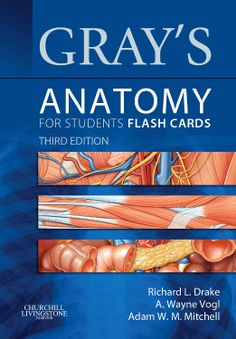 "The NEW 3rd edition of ""Gray's Anatomy for Students Flash Cards"" is here! This set of 350 cards is the perfectly handy review companion to help you test your anatomical knowledge for course exams and for the #USMLE Step 1, featuring the same artwork found in the actual book! #medschool"