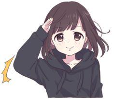 - Yabe-line. Anime Neko, Cute Anime Chibi, Cute Anime Pics, Anime Girl Cute, Beautiful Anime Girl, Kawaii Anime Girl, Anime Art Girl, Manga Anime, Kawaii Chan