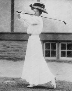Katharine Harley Lady Golf Champion 8x10 Reprint Of Old Photo