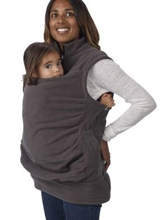 Baby Carrier Vest Kangaroo Outerwear - FIREVOGUE