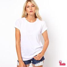 ☁️ ⛅️ ☁️🌴🌊🌴 Entre neste look básico e aproveite o melhor do verão!  Quer mais dicas de moda? Clique no link! www.lojastenda.com.br/blog/