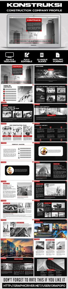 Brochure for Company Profile Ver1 Fonts-logos-icons Pinterest - company profile sample download