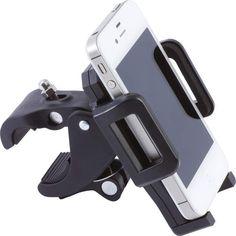 Adjustable Motorcycle Bicycle Cell Phone PDA GPS Mobile Device Handle Bar Mount  #DiamondPlate