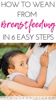 To Easily Wean From Breastfeeding Weaning your toddler from breastfeeding can be tough - but it doesn't have to be. Check out these 6 tips to make weaning from breastfeeding a bit easier. Weaning From Breastfeeding Weaning Breastfeeding, Stopping Breastfeeding, Breastfeeding Problems, Extended Breastfeeding, Pregnant And Breastfeeding, Baby Kicking, Thing 1, Baby Arrival, After Baby