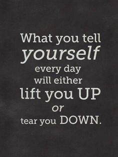 Lift yourself up!