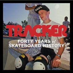 Recognize this legend ? The #trackerbook is loaded with content. Order the gnarly 388-page coffee table book TRACKER - Forty Years of Skateboard History at top profile link @trackertrucks