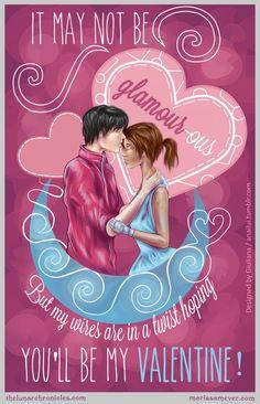 Cinder and Kai valentine