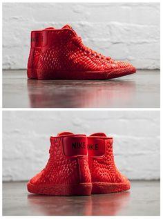 Nike Blazer Mid DMB: Red