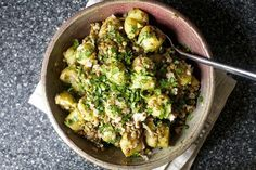 warm lentil and potato salad | smittenkitchen