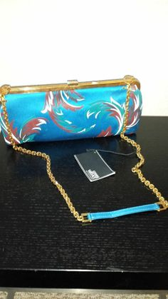 Authentic Vintage Gianni Versace Couture Barocco Accessori Vintage Clutch