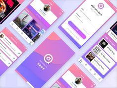 Great work from a designer in the Dribbble community; your best resource to discover and connect with designers worldwide. App Ui Design, Mobile App Design, Mobile Ui, Web Design, Graphic Design, All Black Party, Event App, Ui Inspiration, Website