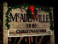 McAdenville, NC...Christmas Town, I miss driving through here everyday after work