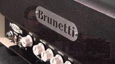 Italian Designed Brunetti PlexiMan 50 Watt Amp Head Overview