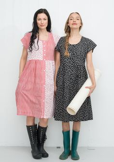 """""""Primula Mix"""" cotton dress – In the countryside – GUDRUN SJÖDÉN – Webshop, mail order and boutiques 