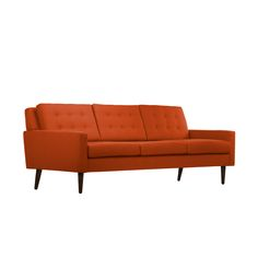 """Edgar Blazona: he's single-handedly reinvented """"modern,"""" and now brings that edge to Dot & Bo. Much like us, his designs always tell a story, one where every component is vital. Such is the case with t...  Find the Allaire Sofa, as seen in the Mid-Century Western Collection at http://dotandbo.com/collections/mid-century-western?utm_source=pinterest&utm_medium=organic&db_sku=117397"""