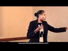 Productivity / Professionalism Training (Corporate Trainer Dana Brownlee)